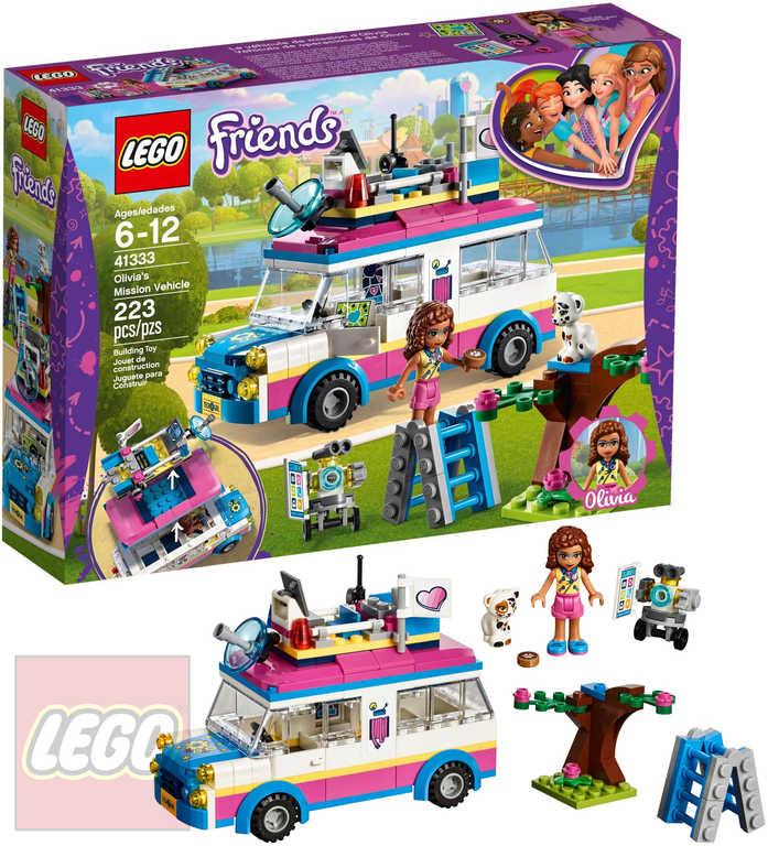 LEGO FRIENDS Olivia a její speciální vozidlo 41333