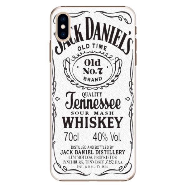 Plastové pouzdro iSaprio - Jack White - iPhone XS Max
