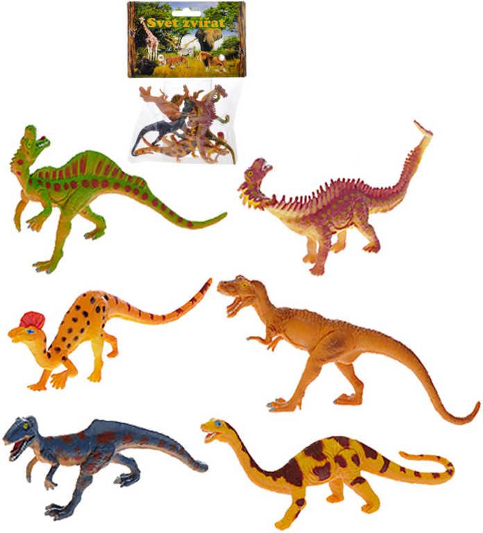 Dinosauři 6 ks v sáčku - 2 druhy