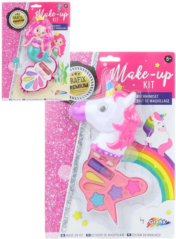 Dětské šminky make-up sada s malovátky mořská panna / jednorožec