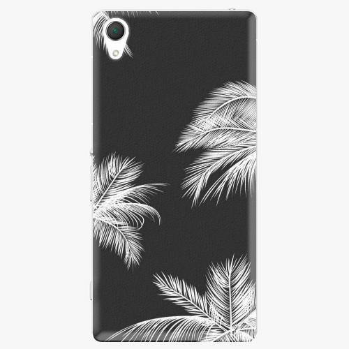 Plastový kryt iSaprio - White Palm - Sony Xperia Z2