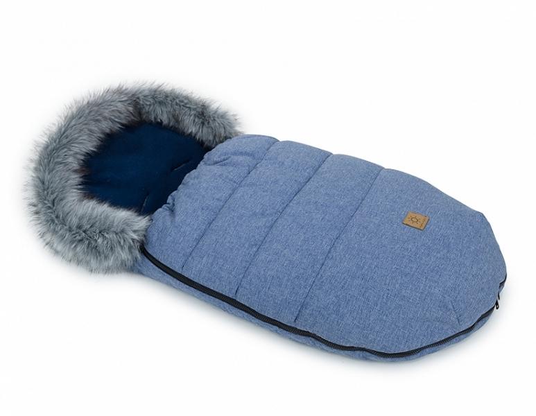mamo-tato-zimni-fusak-lux-s-kozesinkou-50-x-100cm-jeans-granatovy-bavlneny