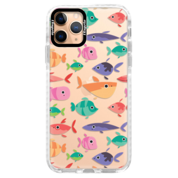 Silikonové pouzdro Bumper iSaprio - Fish pattern 01 - iPhone 11 Pro