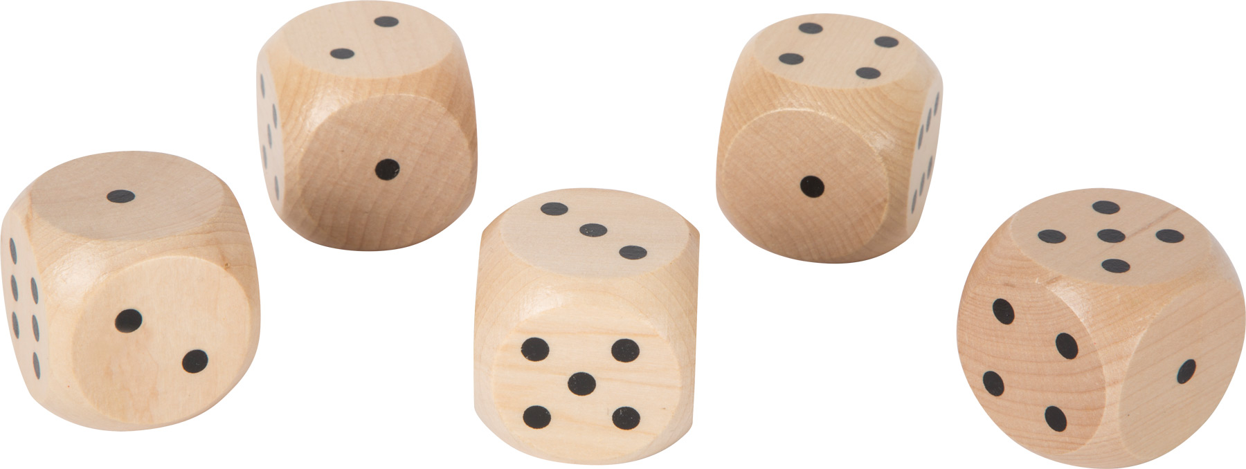 Small Foot Hrací kostky velké 5ks