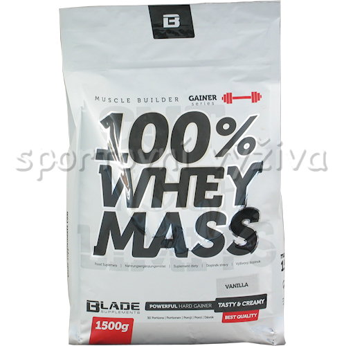 BS Blade 100% Whey Mass Gainer - 1500g-kokos