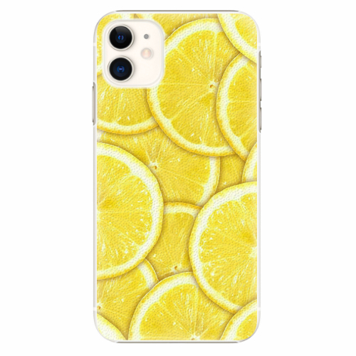 Plastový kryt iSaprio - Yellow - iPhone 11