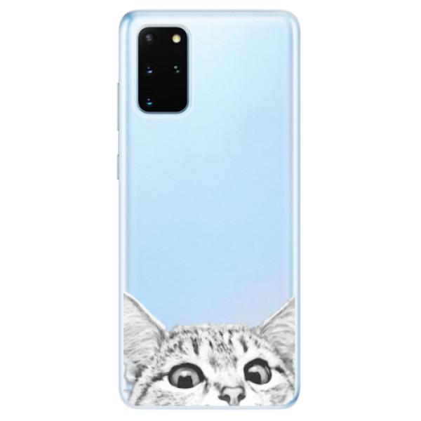 Odolné silikonové pouzdro iSaprio - Cat 02 - Samsung Galaxy S20+