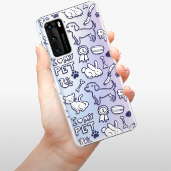 Plastové pouzdro iSaprio - Love my pets - Huawei P40