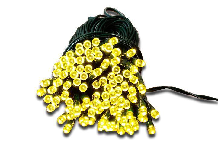 Zahradní světelný řetěz Garth - 50x LED dioda teplá bílá