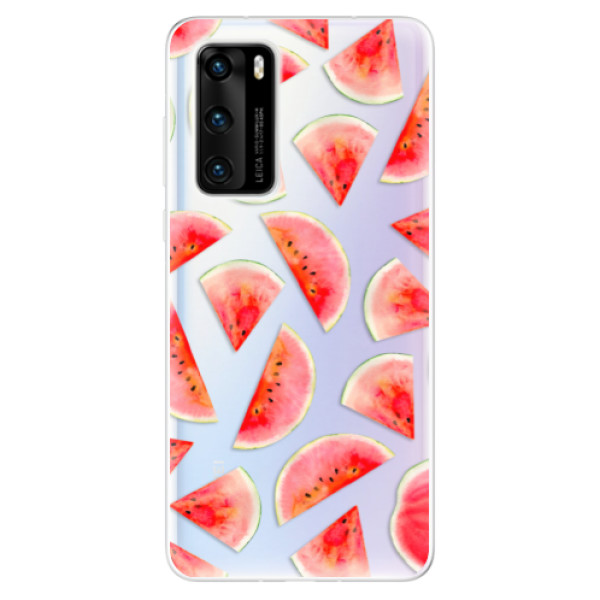 Odolné silikonové pouzdro iSaprio - Melon Pattern 02 - Huawei P40
