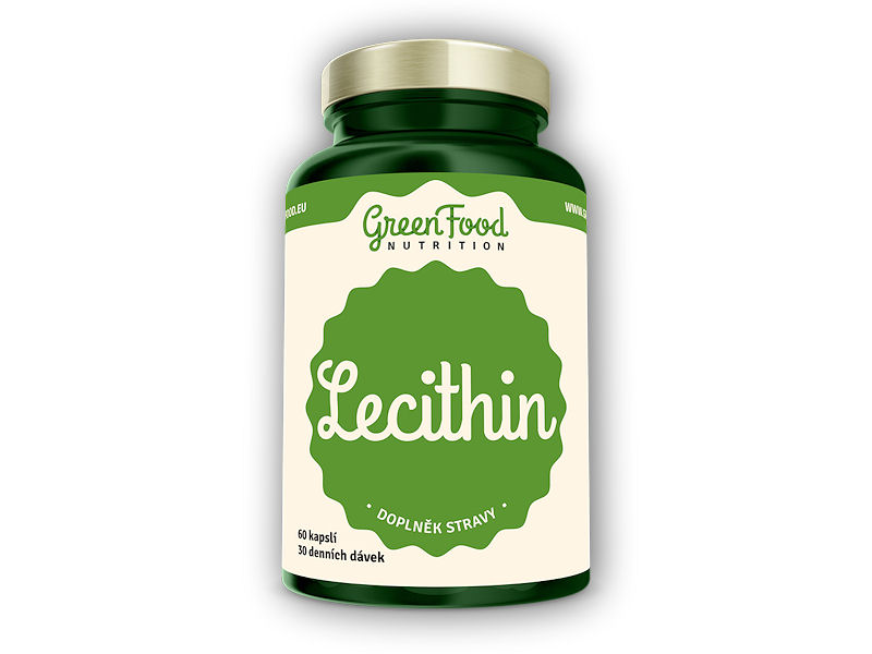 Lecithin 60 vegan kapslí