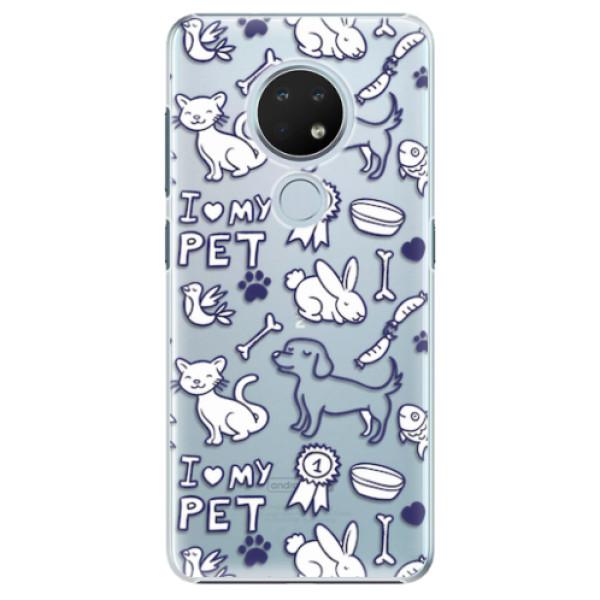 Plastové pouzdro iSaprio - Love my pets - Nokia 6.2