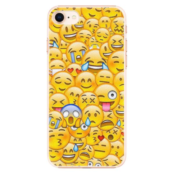 Plastové pouzdro iSaprio - Emoji - iPhone 8