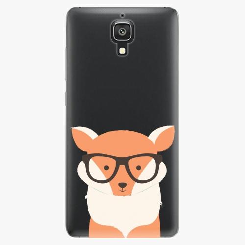 Plastový kryt iSaprio - Orange Fox - Xiaomi Mi4