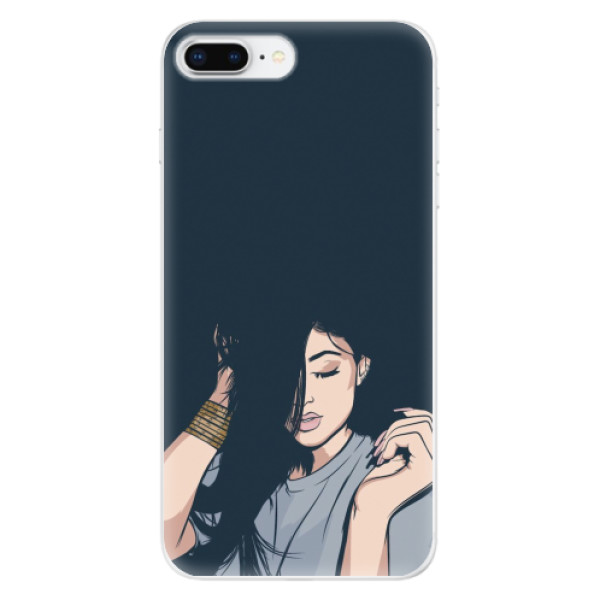 Odolné silikonové pouzdro iSaprio - Swag Girl - iPhone 8 Plus