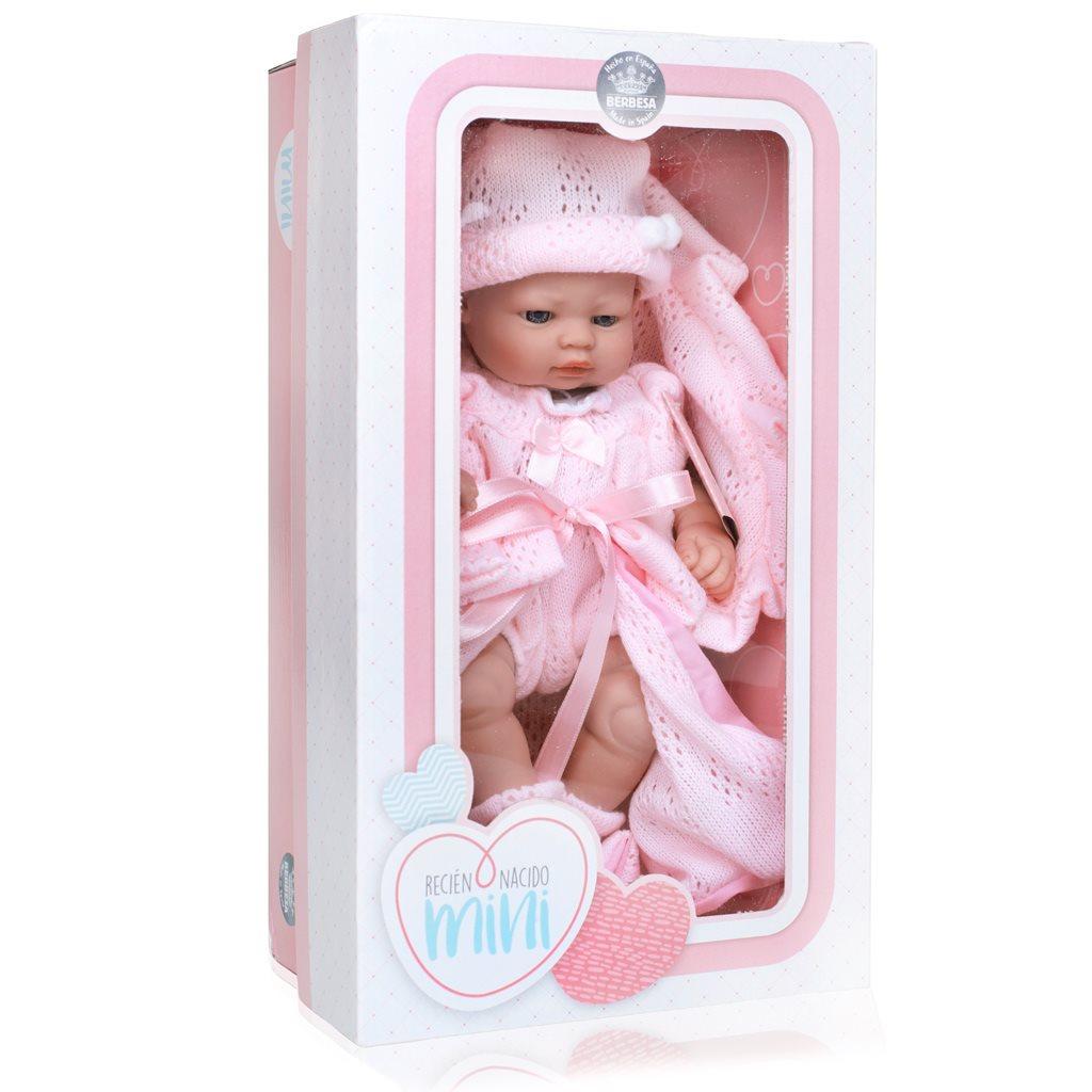 Luxusní dětská panenka-miminko Berbesa