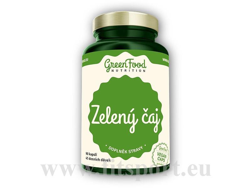 Zelený čaj 90 vegan kapslí