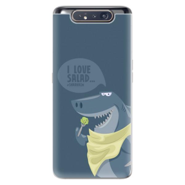 Odolné silikonové pouzdro iSaprio - Love Salad - Samsung Galaxy A80