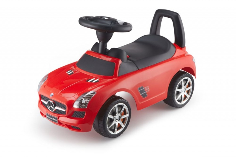 Eco toys Jezdítko, odrážedlo Mercedes-Benz - červené