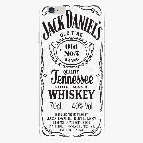 Silikonové pouzdro iSaprio - Jack White - iPhone 6/6S