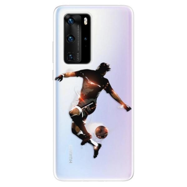 Odolné silikonové pouzdro iSaprio - Fotball 01 - Huawei P40 Pro