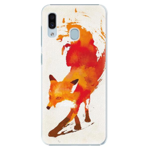 Plastové pouzdro iSaprio - Fast Fox - Samsung Galaxy A20