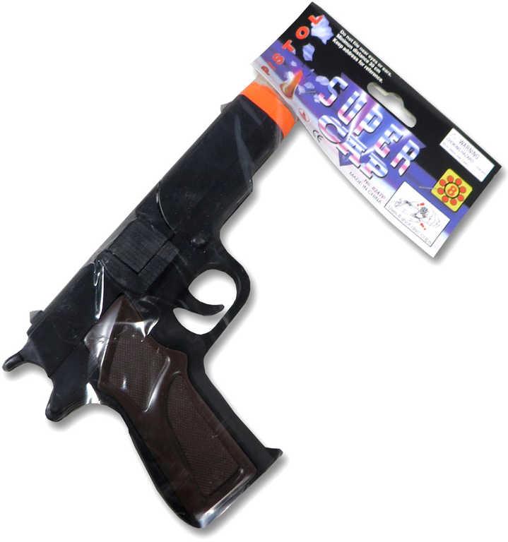 Pistole dětská na kapsle KAPSLOVKA v sáčku plast