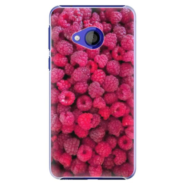 Plastové pouzdro iSaprio - Raspberry - HTC U Play