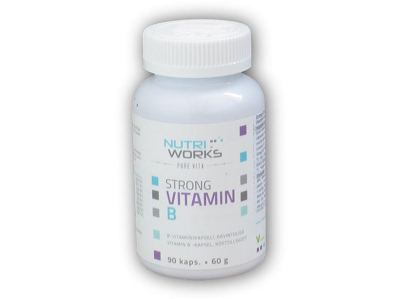 Strong vitamin B 90 kapslí