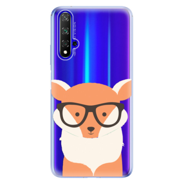 Odolné silikonové pouzdro iSaprio - Orange Fox - Huawei Honor 20