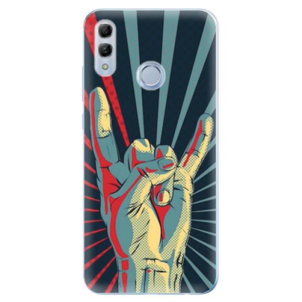 Odolné silikonové pouzdro iSaprio - Rock - Huawei Honor 10 Lite