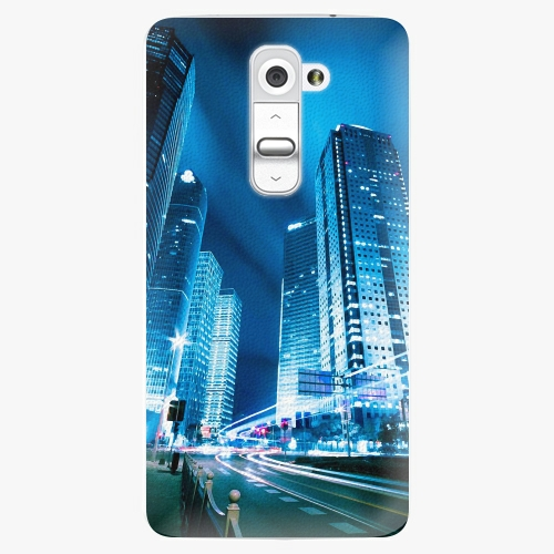 Plastový kryt iSaprio - Night City Blue - LG G2 (D802B)