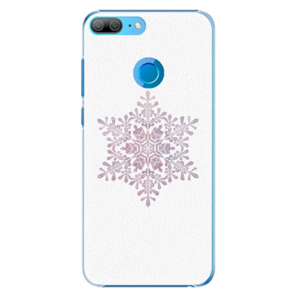 Plastové pouzdro iSaprio - Snow Flake - Huawei Honor 9 Lite
