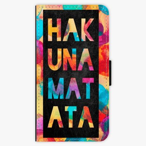 Flipové pouzdro iSaprio - Hakuna Matata 01 - Huawei P10 Plus