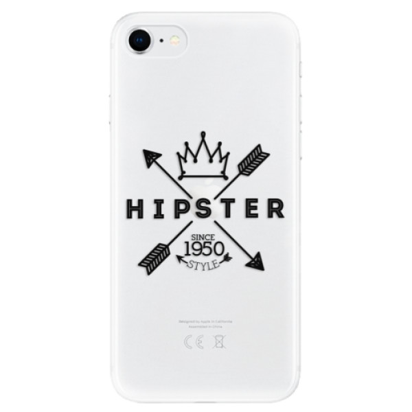 Odolné silikonové pouzdro iSaprio - Hipster Style 02 - iPhone SE 2020