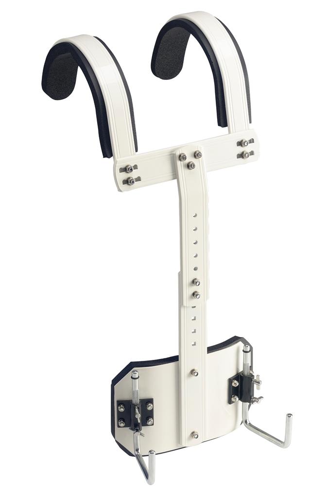 Stagg MACA-SD10, postroj pro bubínek rytmický pochodový, bílý