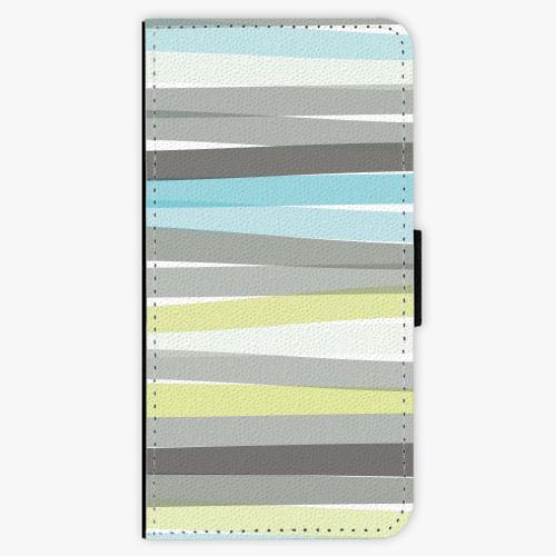 Flipové pouzdro iSaprio - Stripes - Nokia 6