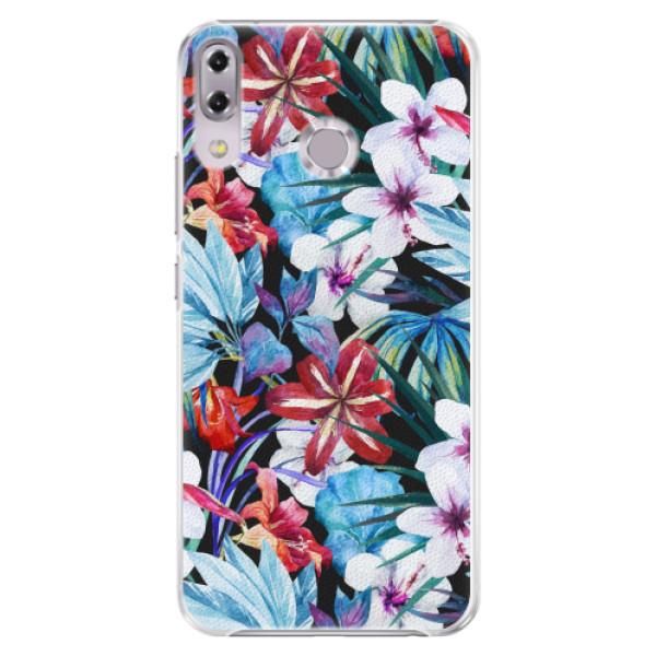 Plastové pouzdro iSaprio - Tropical Flowers 05 - Asus ZenFone 5Z ZS620KL