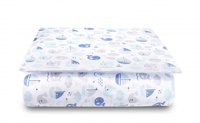 baby-nellys-2-dilne-bavlnene-povleceni-ocean-baby-modre-120x90