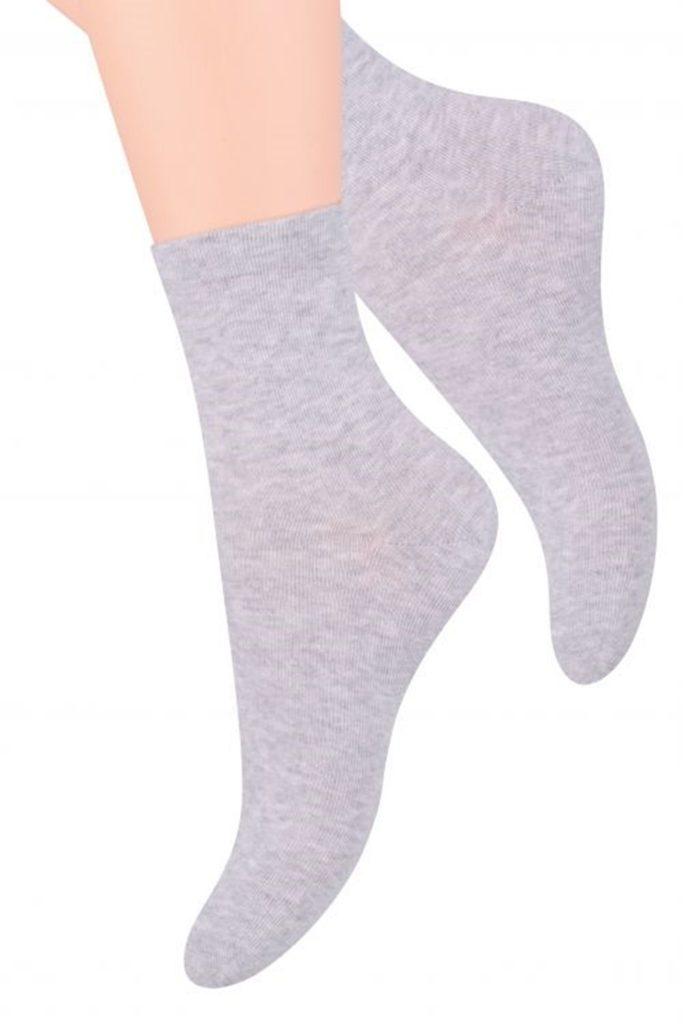 Dámské ponožky 037 light grey