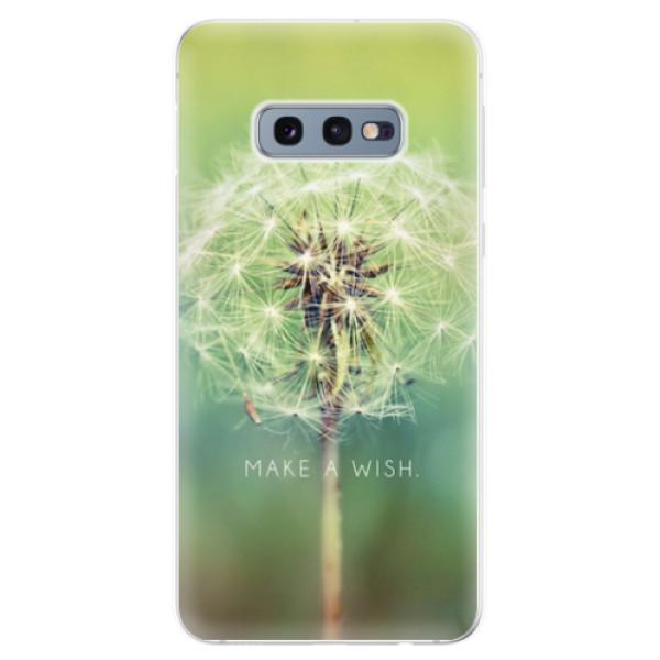 Odolné silikonové pouzdro iSaprio - Wish - Samsung Galaxy S10e