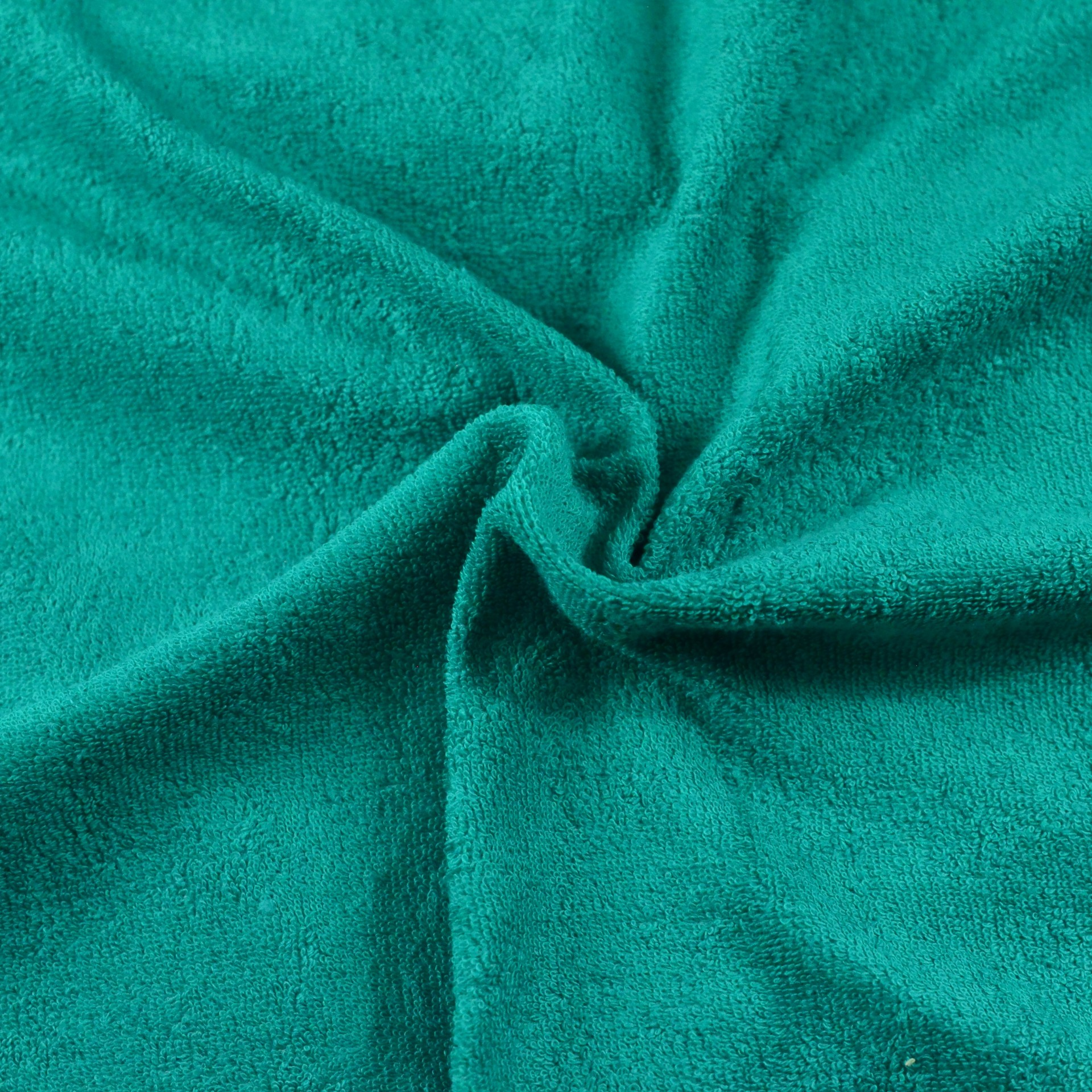 Froté prostěradlo tmavě zelené, Výběr rozměru - 90x200cm