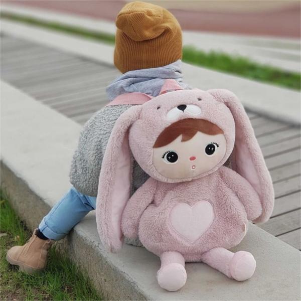 Dětský batůžek Metoo Králíček - růžový
