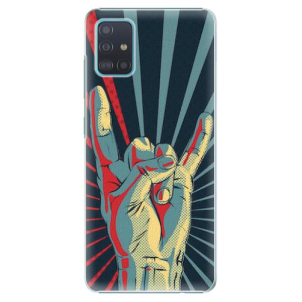 Plastové pouzdro iSaprio - Rock - Samsung Galaxy A51
