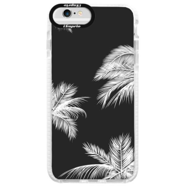 Silikonové pouzdro Bumper iSaprio - White Palm - iPhone 6/6S
