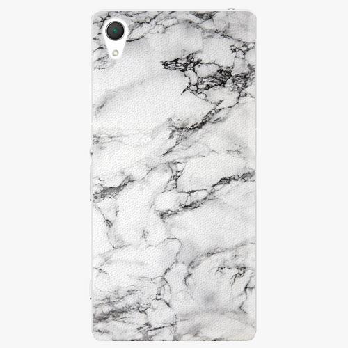 Plastový kryt iSaprio - White Marble 01 - Sony Xperia Z2