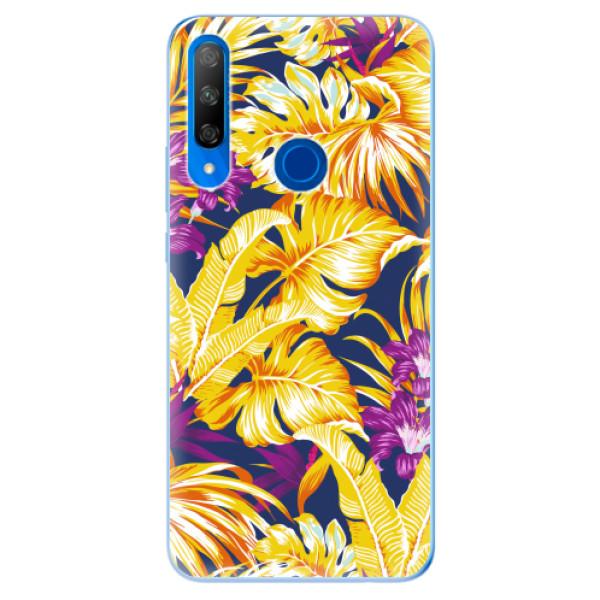 Odolné silikonové pouzdro iSaprio - Tropical Orange 04 - Huawei Honor 9X