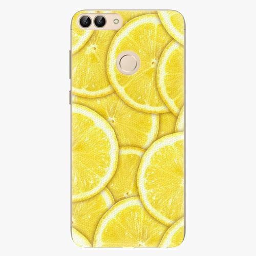 Silikonové pouzdro iSaprio - Yellow - Huawei P Smart