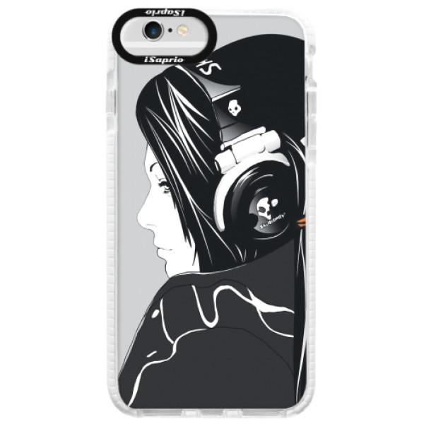 Silikonové pouzdro Bumper iSaprio - Headphones - iPhone 6/6S