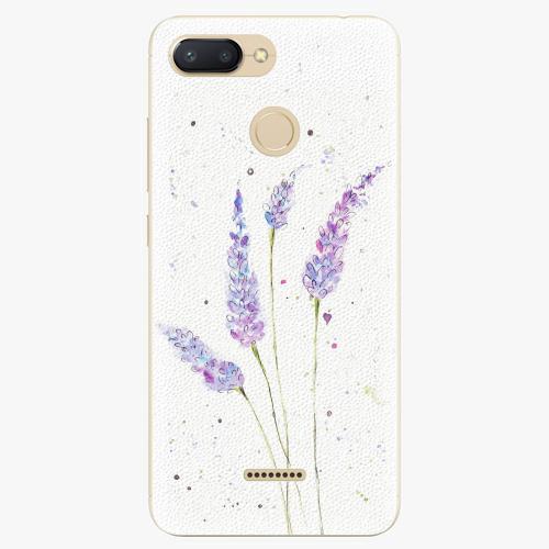 Silikonové pouzdro iSaprio - Lavender - Xiaomi Redmi 6